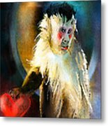 Keep Hold Of My Heart Metal Print
