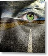 Keep Your Eyes On The Road Metal Print