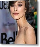 Keira Knightley At Arrivals For The Metal Print