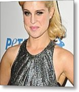Kelly Osbourne At Arrivals For Petas Metal Print