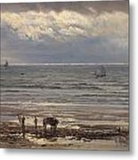 Kelp Gatherers Metal Print by Henry Moore