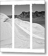 Kelso Dunes Triptych Metal Print