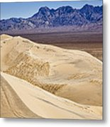 Kelso Sand Dunes 2 Metal Print