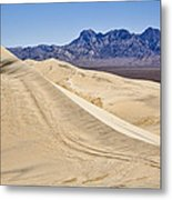 Kelso Sand Dunes Metal Print
