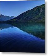 Kenai Lake Blues Metal Print