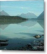 Kenai Lake Reflections Metal Print