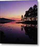 Kenmare Bay, Co Kerry, Ireland Sunset Metal Print