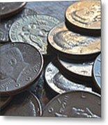 Kennedy Half Dollars I Metal Print