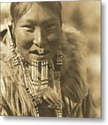 Kenowun Of The Nunivak Metal Print