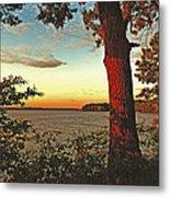 Kentucky Lake Sunrise Metal Print