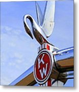 Kenworth Insignia And Swan Metal Print