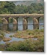Kerala Beauty Metal Print