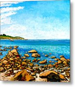 Kettle Cove Metal Print