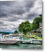 Keuka Lake Shoreline Metal Print