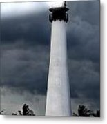 Key Biscayne Lighthouse Metal Print by Rudy Umans