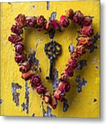 Key To My Heart Metal Print
