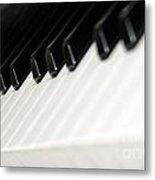 Keyboard Metal Print