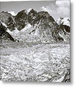 Khumbu Glacier Metal Print