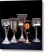 Kiddush Cups Metal Print
