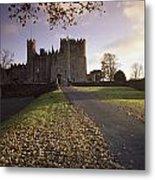 Kilkea Castle, Co Kildare, Ireland Road Metal Print
