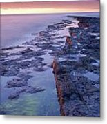 Killala Bay, Co Sligo, Ireland Bay At Metal Print