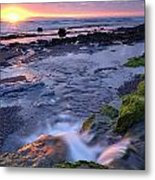 Killala Bay, Co Sligo, Ireland Sunset Metal Print