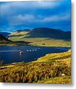 Killary Harbour, Co Galway, Ireland Metal Print
