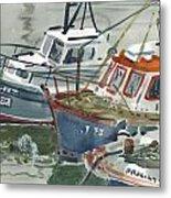 Kilmore Boats Metal Print