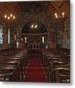 Kilmore Church Dervaig Metal Print