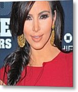 Kim Kardashian At Arrivals For 2011 Metal Print by Everett