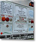 Kindness Bus 3 Metal Print