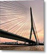 King Rama Bridge Bangkok Metal Print