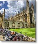 Kings College Cambridge Metal Print