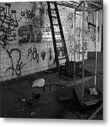 Kings Ladder Metal Print