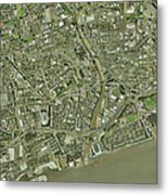Kingston Upon Hull, Uk Metal Print
