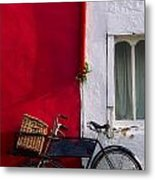 Kinsale, Co Cork, Ireland Bicycle Metal Print