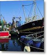 Kinsale, Co Cork, Ireland Fishing Boats Metal Print
