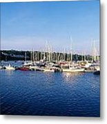 Kinsale, Co Cork, Ireland Moored Boats Metal Print