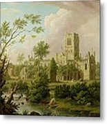 Kirkstall Abbey - Yorkshire Metal Print