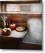 Kitchen - Sink - Farm Kitchen  Metal Print