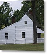 Kitchen And Slave Quarters Appomattox Virginia Metal Print