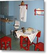 Kitchen In Color Metal Print