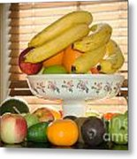 Kitchen Naturmort  Metal Print