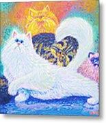 Kitties For Jenny Metal Print