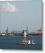 Kiz Kulesi - Leander Tower Istanbul Metal Print