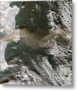 Klyuchevskaya Volcano Metal Print