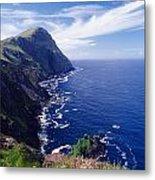 Knockmore Mountain, Clare Island Metal Print