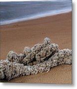 Knots On The Sand Metal Print