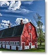 Knox Barn 13829c Metal Print