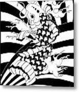 Koi Fish 2 Metal Print